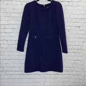 Boden Navy Blue Thick Material Dress